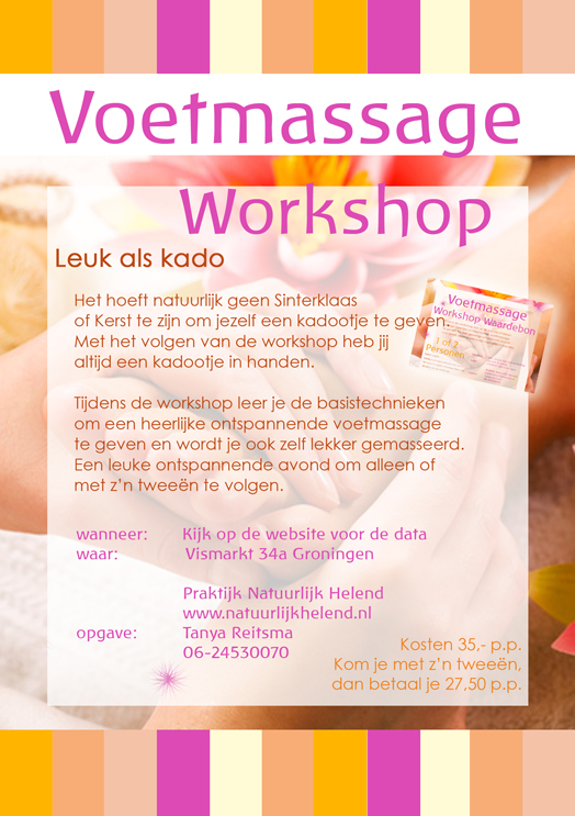 Voet Massage Workshop